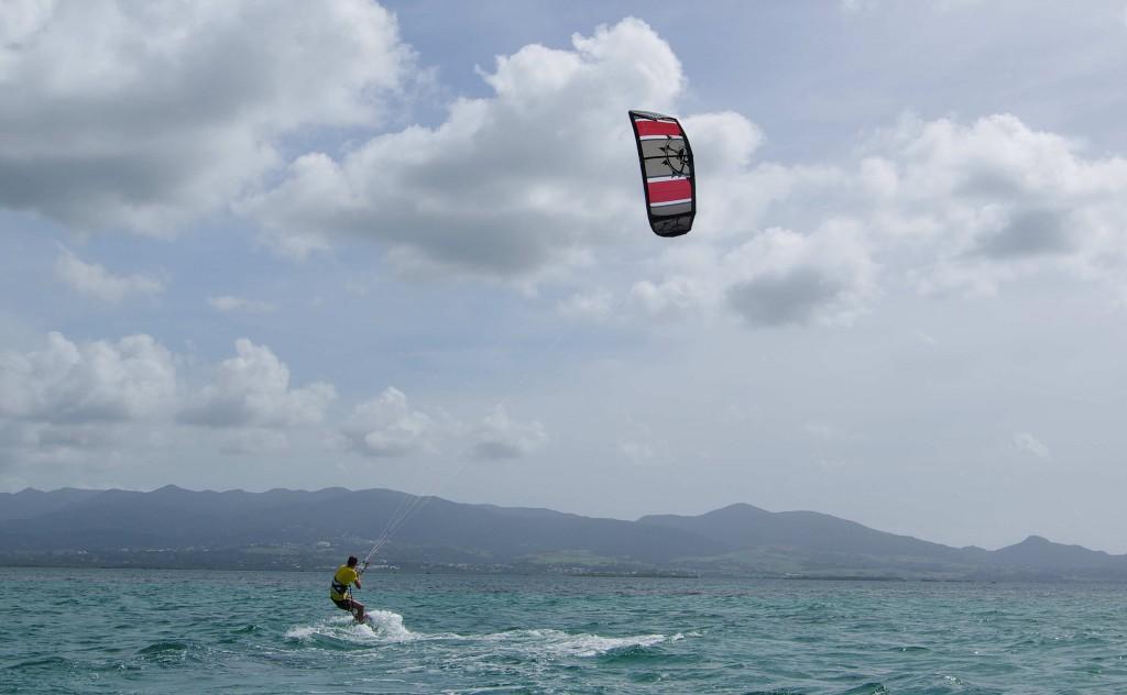 Premiers pas en kite !